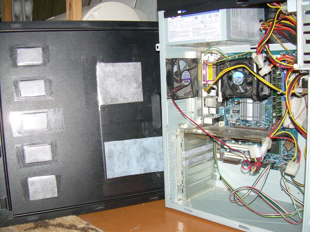 Как сделать свой компьютер тихим 448