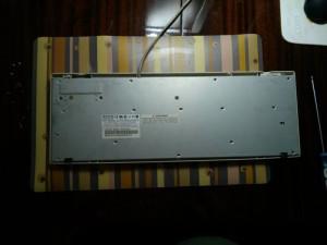 клавиатура Mitsumi нижняя крышка